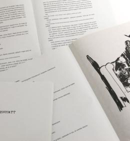 Artystyczna książka Dürrenmatta Friedricha, Achterloo