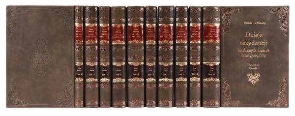Biblioteka gabinetowa dzieł Aftanazego Romana, Dzieje rezydencji na dawnych kresach Rzeczpospolitej