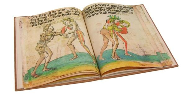 Książka artystyczna Wurma Hansa, Das Ringerbuch