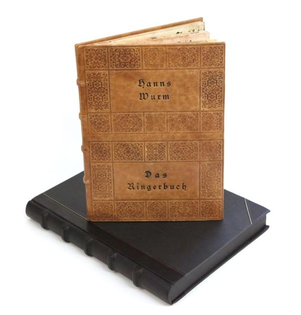 Książka Wurma Hansa, Das Ringerbuch na luksusowy prezent