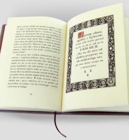 Oprawa introligatorska książki Montaigne'a Michela de, O doświadczeniu
