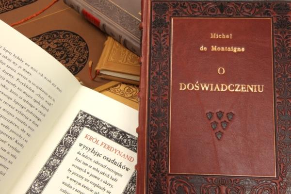 Książka Montaigne'a Michela de, O doświadczeniu na prezent biznesowy