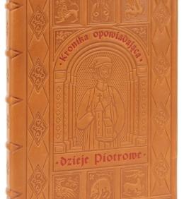 Artystyczna książka Kronika o Piotrze Włostowicu
