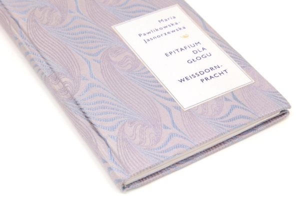 Oprawa artystyczna książki Pawlikowskiej-Jasnorzewskiej Marii, Epitafium dla głogu