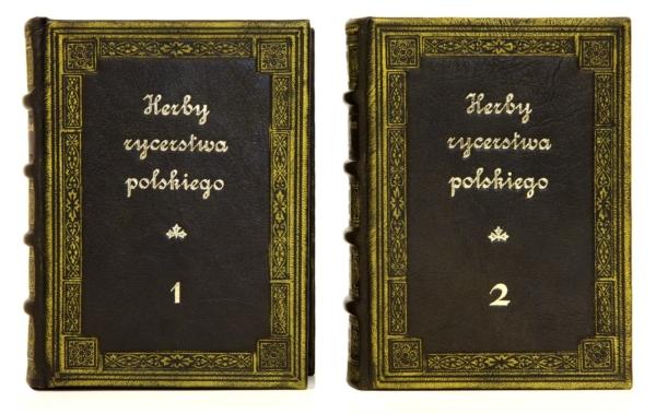 Książka Herby rycerstwa polskiego na ekskluzywny prezent biznesowy