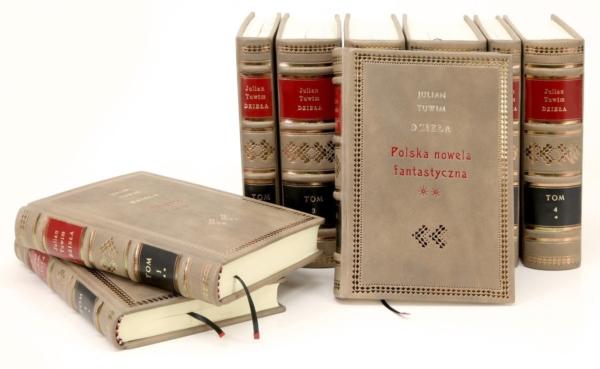 Książki w skórzanej oprawie Tuwima Juliana, Dzieła