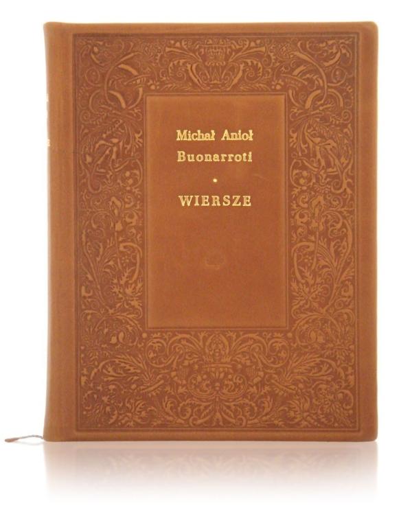 Książka artystyczna Michała Anioła Buonarroti – Wiersze