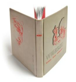 Edycja kolekcjonerska książki Michała Anioła Buonarroti, Wiersze (unikat)