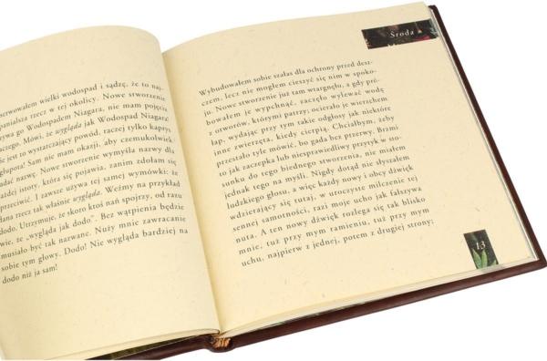 Książka Twaina Marka, Pamiętniki Adama i Ewy na prezent