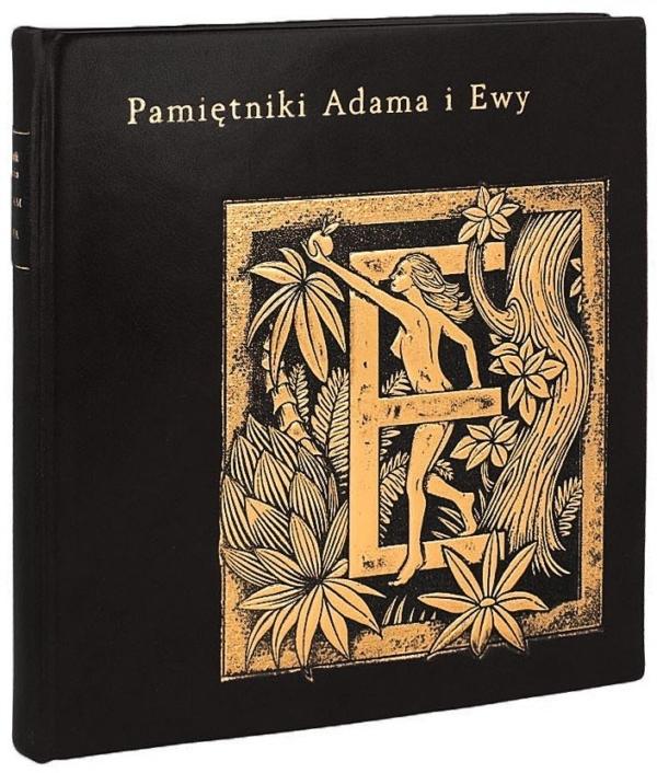 Książka Twaina Marka, Pamiętniki Adama i Ewy na ekskluzywny prezent