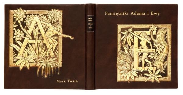Oprawa artystyczna książki Twaina Marka, Pamiętniki Adama i Ewy