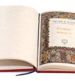 Książka artystyczna Juana de la Cruza, Poemas Mayores