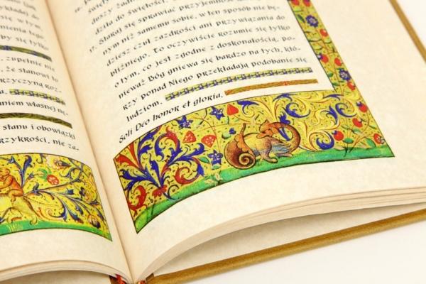 Artystyczna książka Jana od Krzyża św., Rady i wskazówki