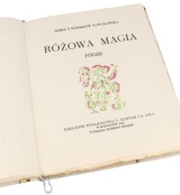 Książka artystyczna Pawlikowskiej-Jasnorzewskiej Marii, Różowa magia