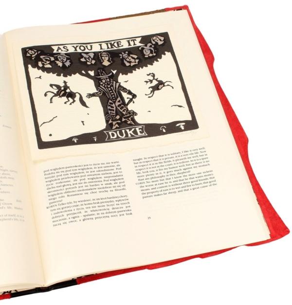 Edycja kolekcjonerska książki Shakespeare'a Williama, Jak wam się podoba