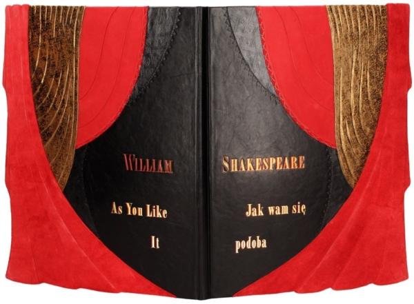 Artystyczna oprawa książki Shakespeare'a Williama, Jak wam się podoba
