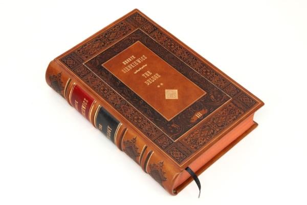 Książka Sienkiewicza Henryka, Trilogy na ekskluzywny prezent biznesowy