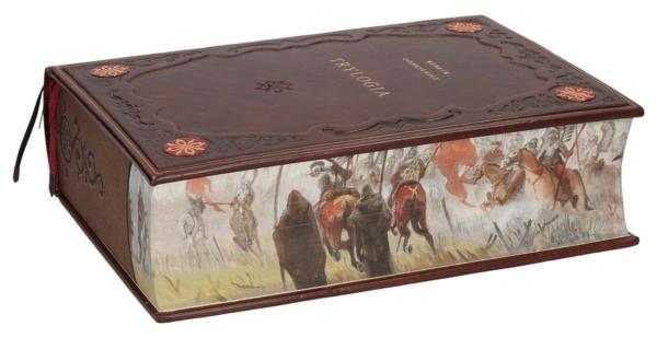 Ręcznie malowana książka Sienkiewicza Henryka, Trylogia