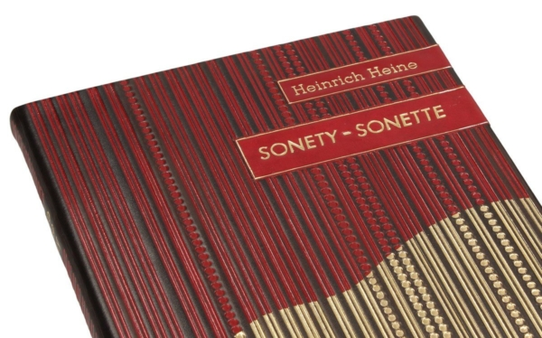 Edycja kolekcjonerska książki Heinego Heinricha, Sonety | Sonette (unikat)