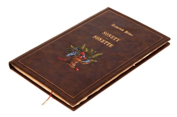 Ekskluzywna książka Heinego Heinricha, Sonety | Sonette (unikat)
