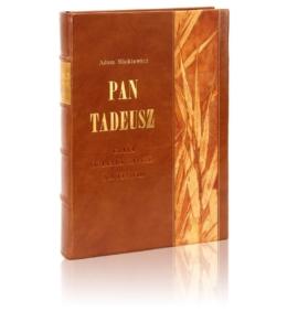 Książka Mickiewicza Adama, Pan Tadeusz na luksusowy prezent