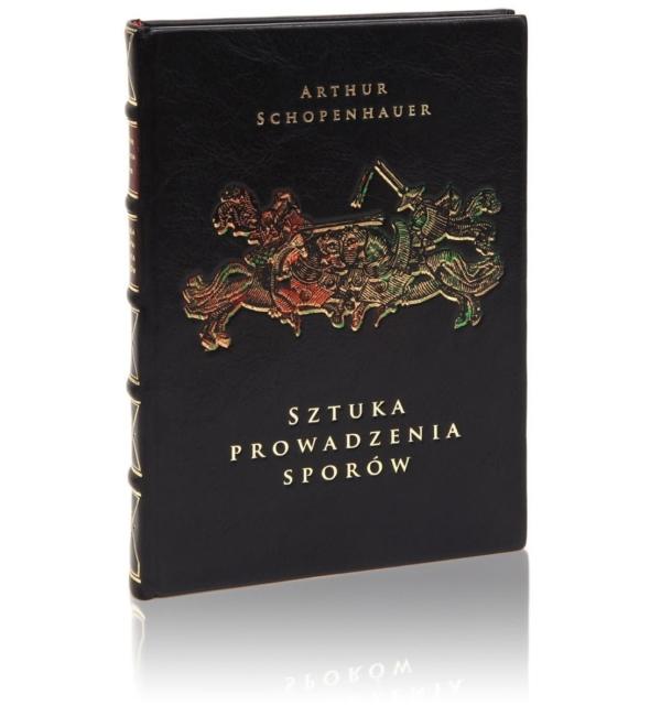 Książka Schopenhauera Arthura, Sztuka prowadzenia sporów na luksusowy prezent