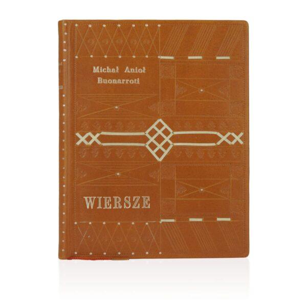 Edycja kolekcjonerska książki Michała Anioła Buonarrotiego – Wiersze