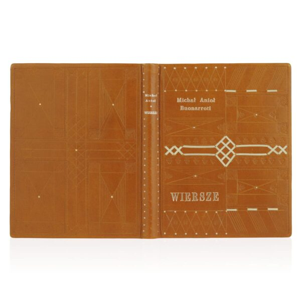 Ekskluzywne wydanie książki Michała Anioła Buonarrotiego – Wiersze