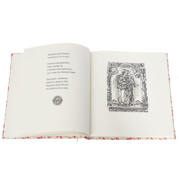 Książka Cicha noc. Najpiękniejsze kolędy na wydrukowana artystycznym papierze