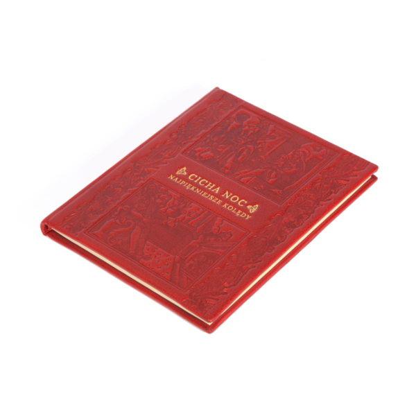 Bibliofilskie wydanie książki Cicha noc. Najpiękniejsze kolędy