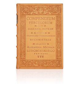 Ekskluzywne wydanie książki Compendium Ferculorum, Najstarsza książka kucharska