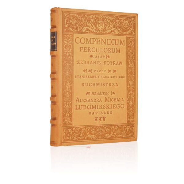 Książka Compendium Ferculorum, Najstarsza książka kucharska w skórzanej oprawie