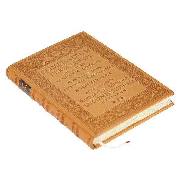 Oprawa introligatorska książki Compendium Ferculorum, Najstarsza książka kucharska