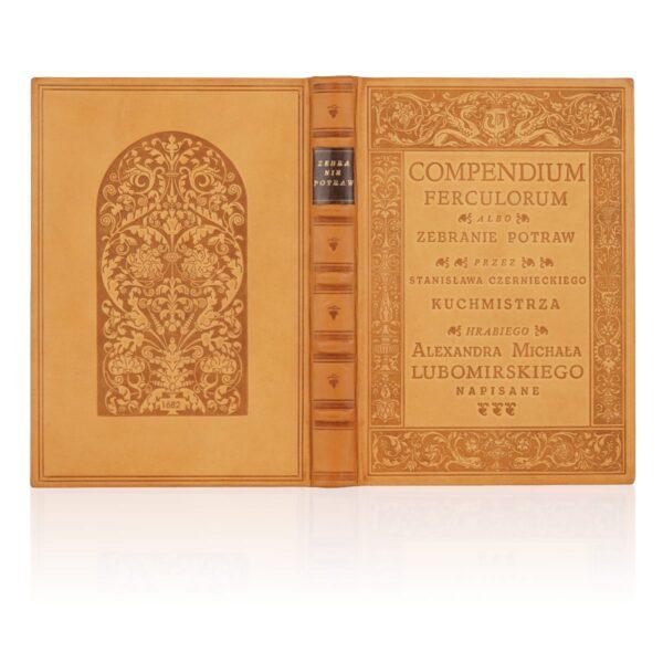 Artystyczne wykonanie na przykładzie książki Compendium Ferculorum, Najstarsza książka kucharska