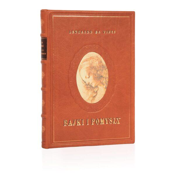 Ekskluzywne wydanie książki Leonarda da Vinci, Bajki i pomysły