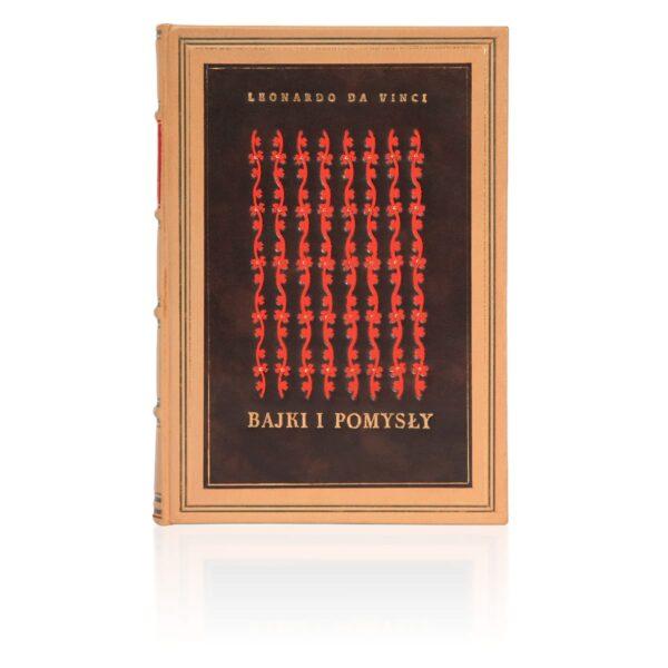 Oprawa introligatorska książki Leonarda da Vinci, Bajki i pomysły