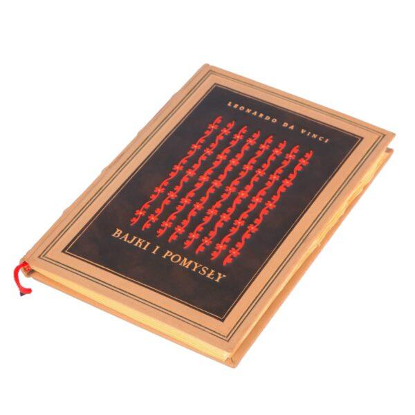Książka Leonarda da Vinci, Bajki i pomysły idealna na prezent osobisty