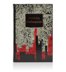 Książka Dicka Philipa K. Tytańscy gracze ręcznie oprawiona w skórę