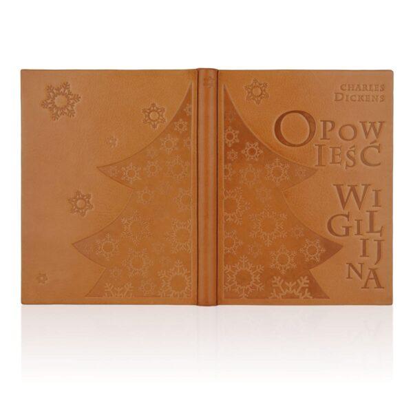 Artystyczne wydanie książki Dickensa Charlesa, Opowieść wigilijna