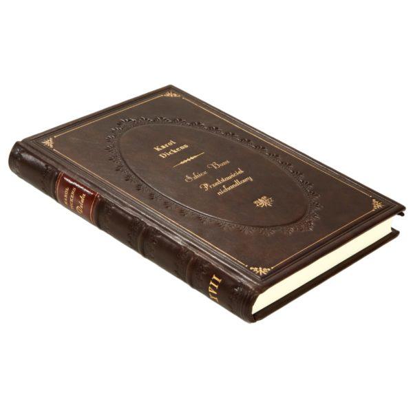 Książka Dickensa Karola, Dzieła w skórzanej oprawie