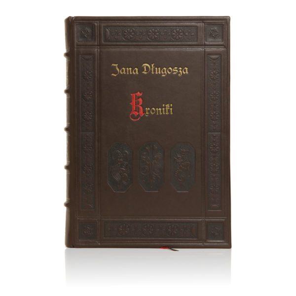 Oprawa introligatorska książki Długosza Jana, Kroniki