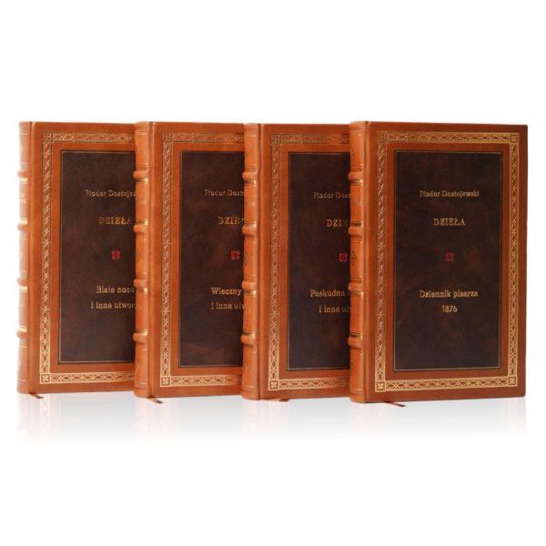 Kolekcja książek Dostojewskiego Fiodora, Dzieła idealna na ekskluzywny prezent biznesowy