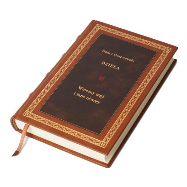 Książka Dostojewskiego Fiodora, Dzieła w skórzanej oprawie