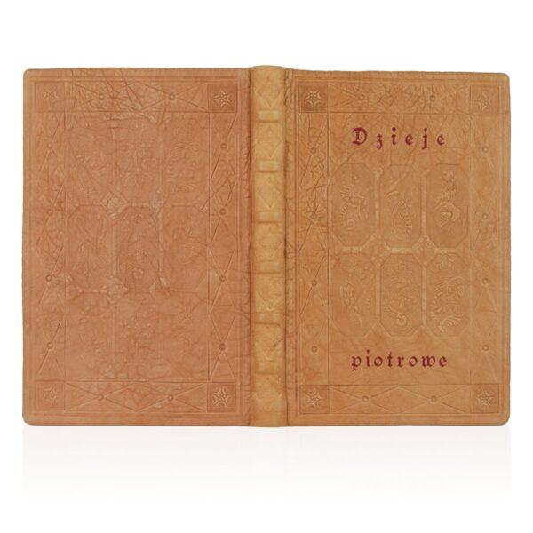 Artystyczne wykonanie na przykładzie książki Kronika o Piotrze Włostowicu