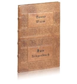 Książka Wurma Hansa, Das Ringerbuch na osobisty prezent