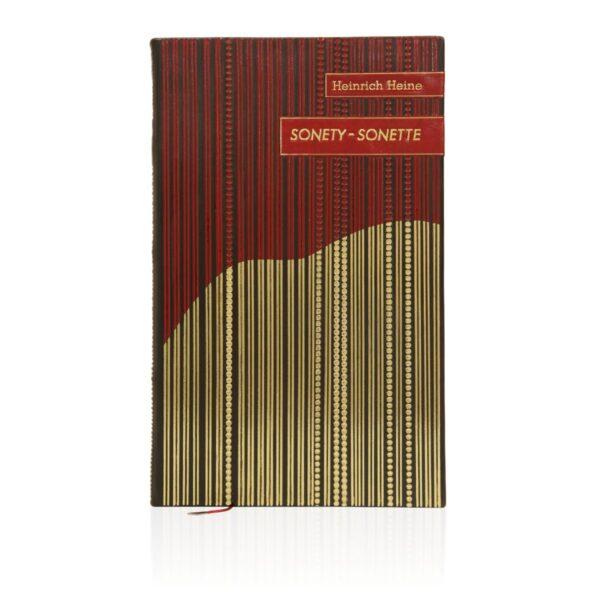 Artystyczne wykonanie na przykładzie książki Heinego Heinricha, Sonety | Sonette (unikat)