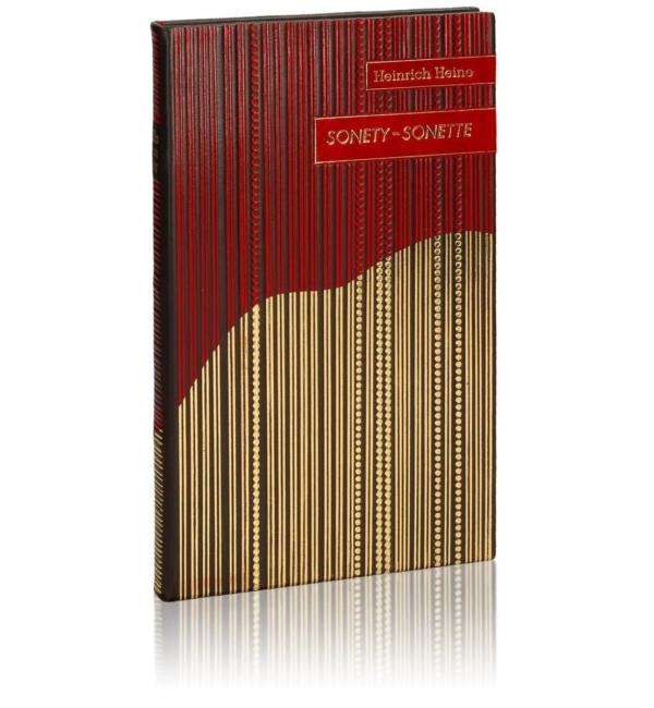 Oprawa introligatorska książki Heinego Heinricha, Sonety | Sonette (unikat)