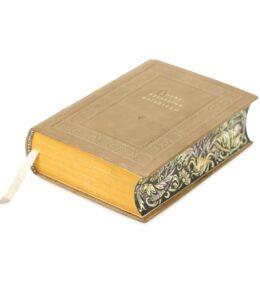 Pięknie malowane brzegi na przykładzie książki Herby rycerstwa polskiego