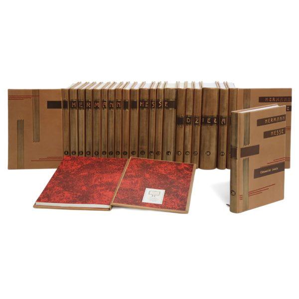 Biblioteka gabinetowa złożona z książek Hessego Hermanna, Dzieła