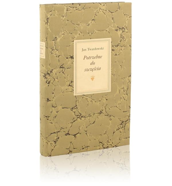 Książka Twardowskiego Jana, Potrzebne do szczęścia na osobisty prezent